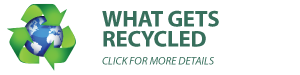 What gets recycled with each load
